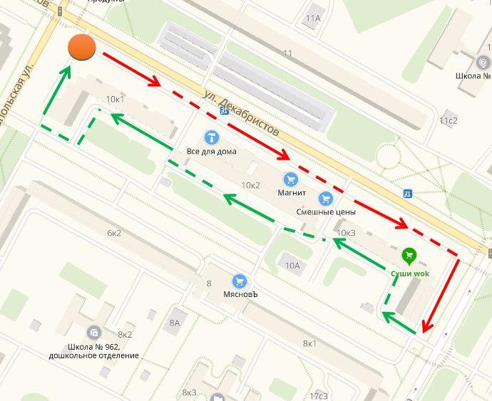 Субботний обход 23 февраля пройдет по улице Декабристов