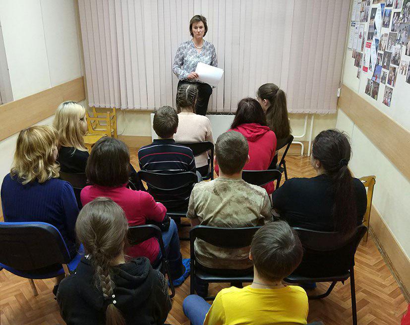 Семинар о подростковых переживаниях прошел в центре «Юность» Отрадного