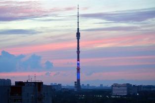 На северо-востоке столицы на час погасят подсветку Останкинской телебашни